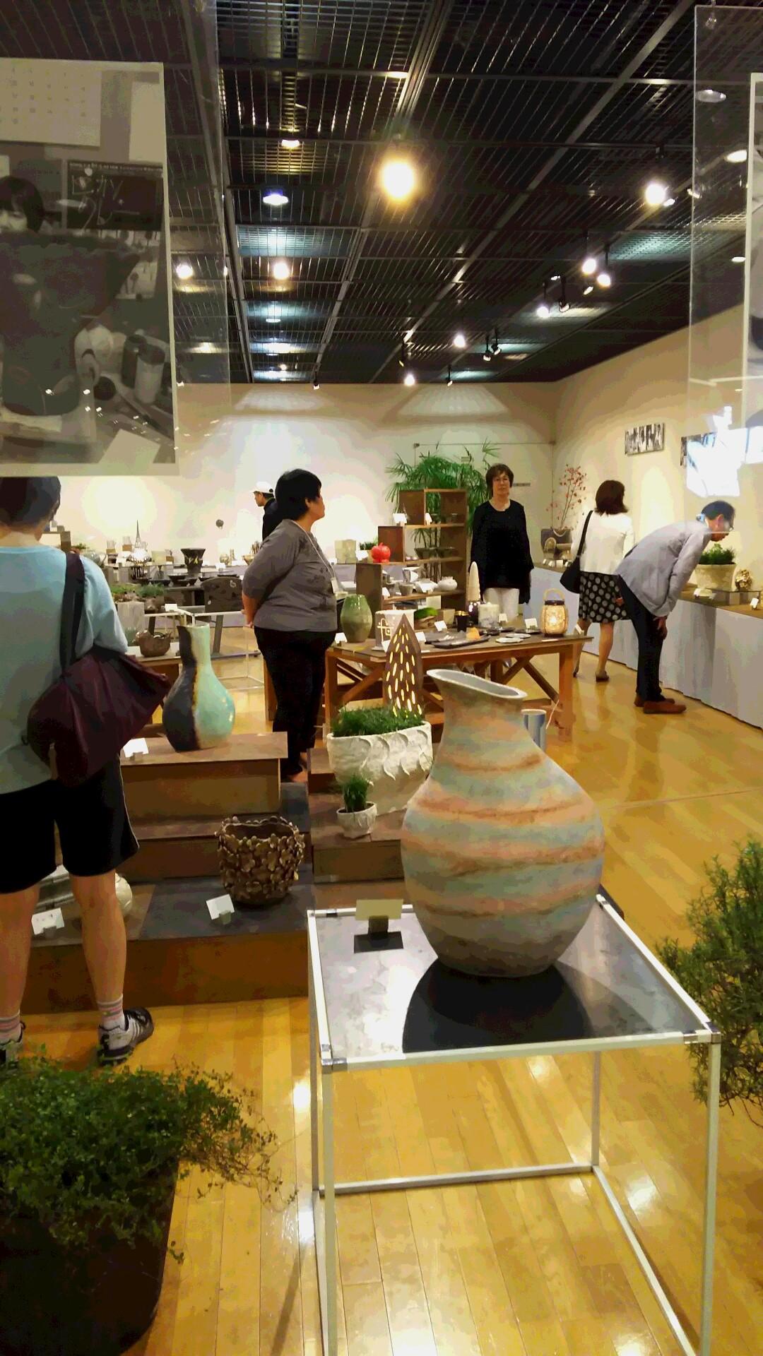 アトリエいく陶芸展